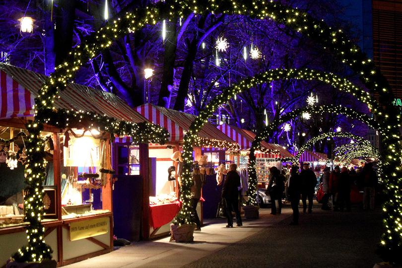 Самые лучшие рождественские базары Европы: Берлин