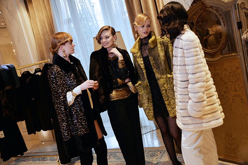 Презентация осенне-зимней коллекции Braschi в Милане