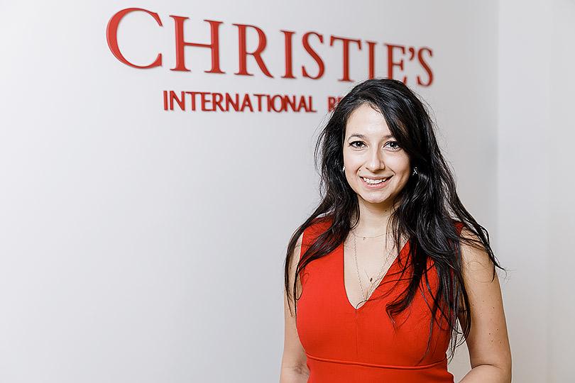 Закрытый показ ювелирных украшений Christie's: Дарья Парфененко