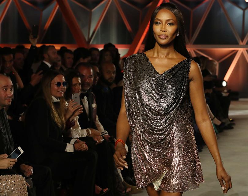 Канны-2017: благотворительный показ Fashion for Relief. Наоми Кэмпбелл