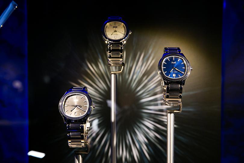 Светская хроника: презентация первой коллекции стальных часов Piaget Polo S