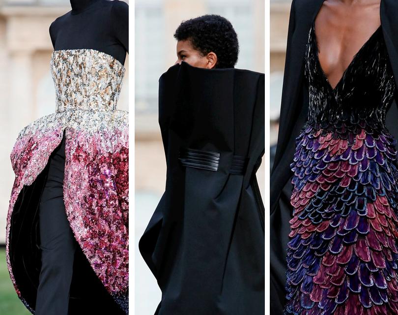 Неделю высокой моды вПариже открыл показ Givenchy Couture