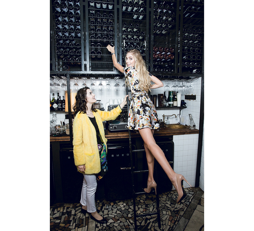 Let's Talk Food: девичник Москва-Петербург в ресторане Hamlet+Jacks. Мари Коберидзе и Ясмина Муратович