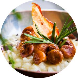 Погрибы: сезон лисичек вмосковских ресторанах. Christian