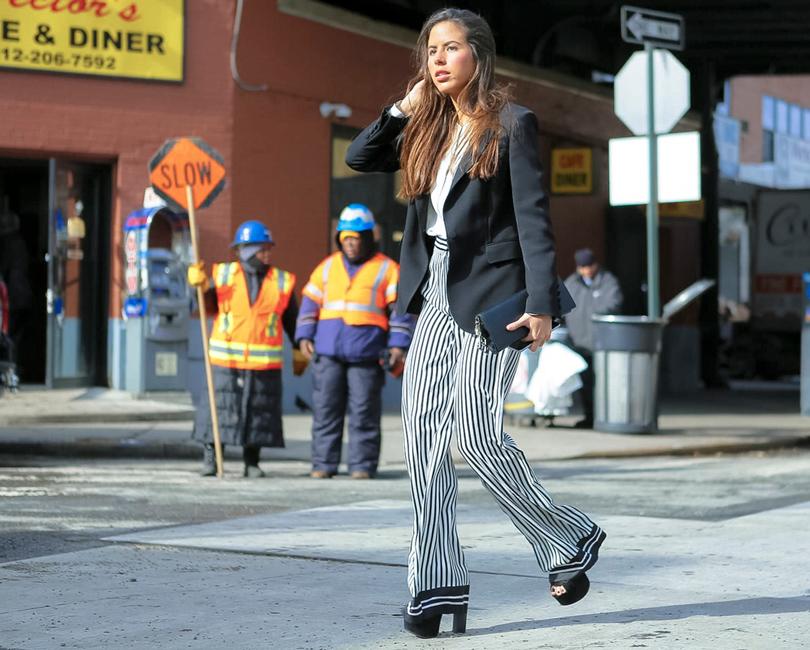 Street Style: уличный стиль наНеделе моды вНью-Йорке