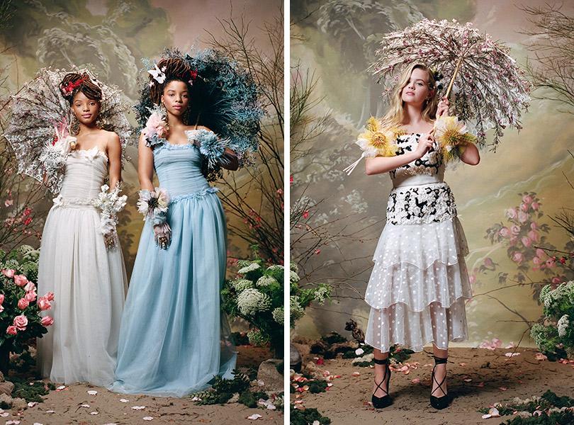 Ода женственности: музы Rodarte восеннем лукбуке марки