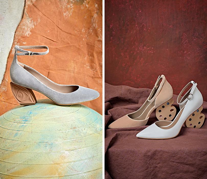 Презентация коллекции обуви Ruban for Ekonika помотивам творчества Модильяни