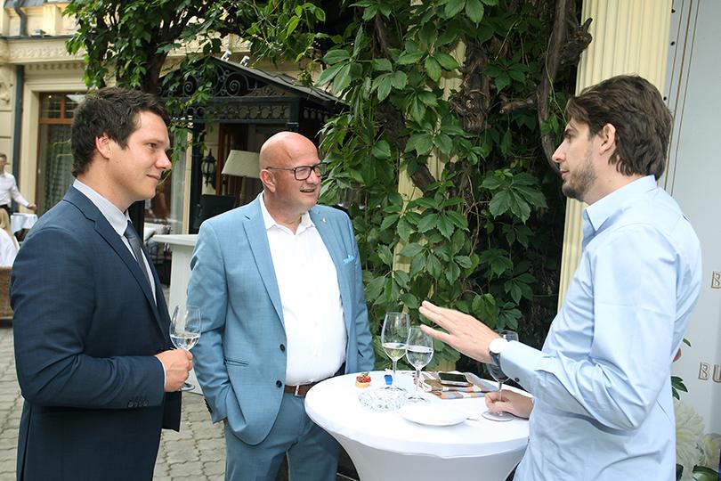 Вресторане Butler прошел бизнес-ужин Posta-Magazine, посвященный Санкт-Моритцу