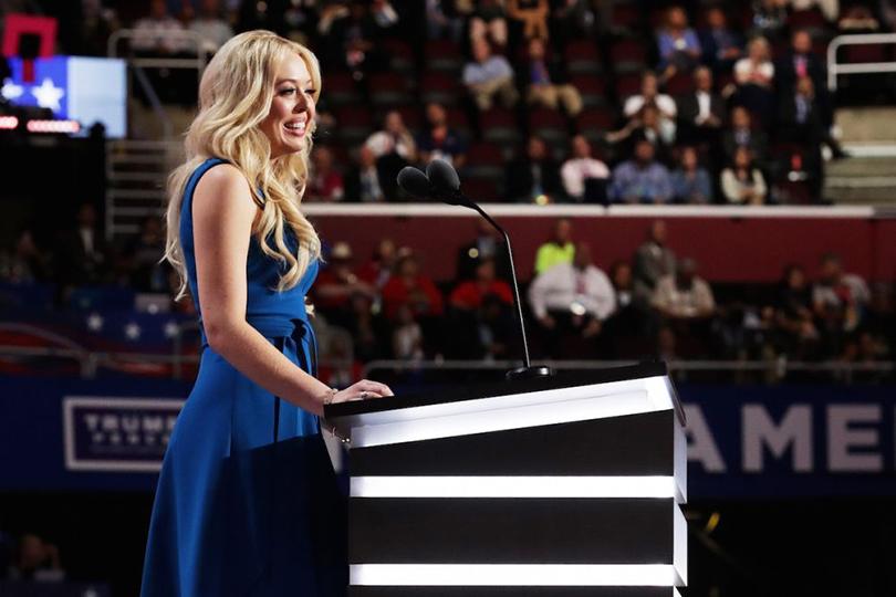 Тиффани Трамп, дочь Дональда, рожденная вбраке сМарлой Мальпес