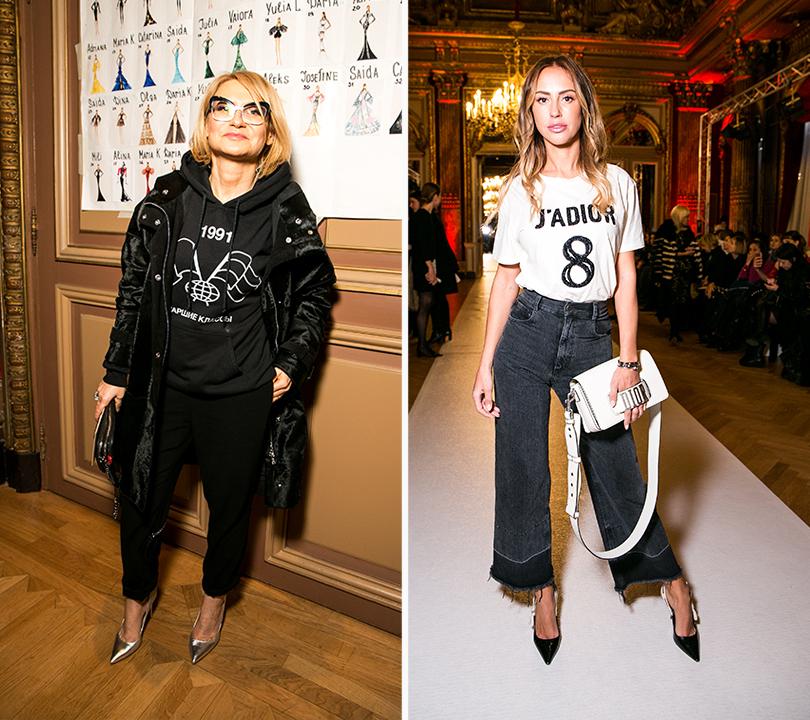 Style Notes: испано-русские мотивы в коллекции Yanina Couture. Эвелина Хромченко, Милана Королева