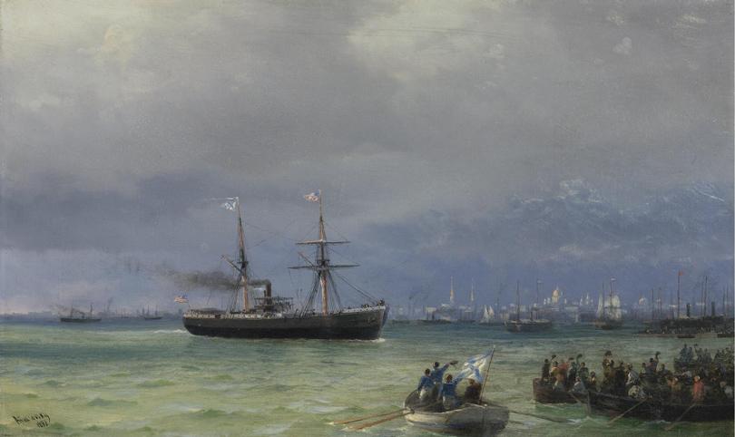 Art & More: все, что вы хотели знать об Айвазовском, но боялись спросить. «Корабль помощи»
