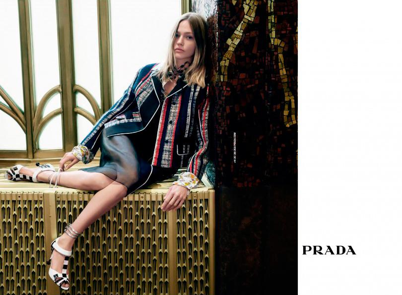 Лучшие рекламные кампании сезона весна-лето 2016: Prada