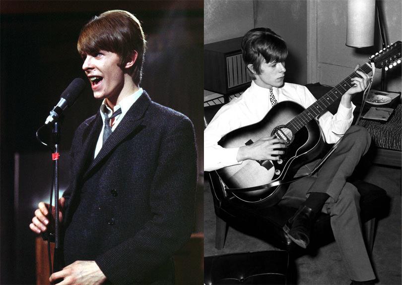 Ранние годы: фолк-рок и стиль модов (март 1966 г. и январь 1965 г.)