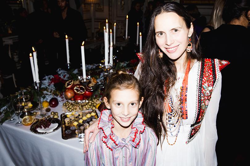 Ольга Томсон с дочерью
