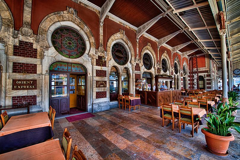 Набегу: лучшие рестораны ваэропортах инавокзалах. Orient Express