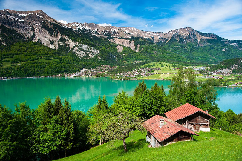 Summer Time: изучаем красоты швейцарского Интерлакена