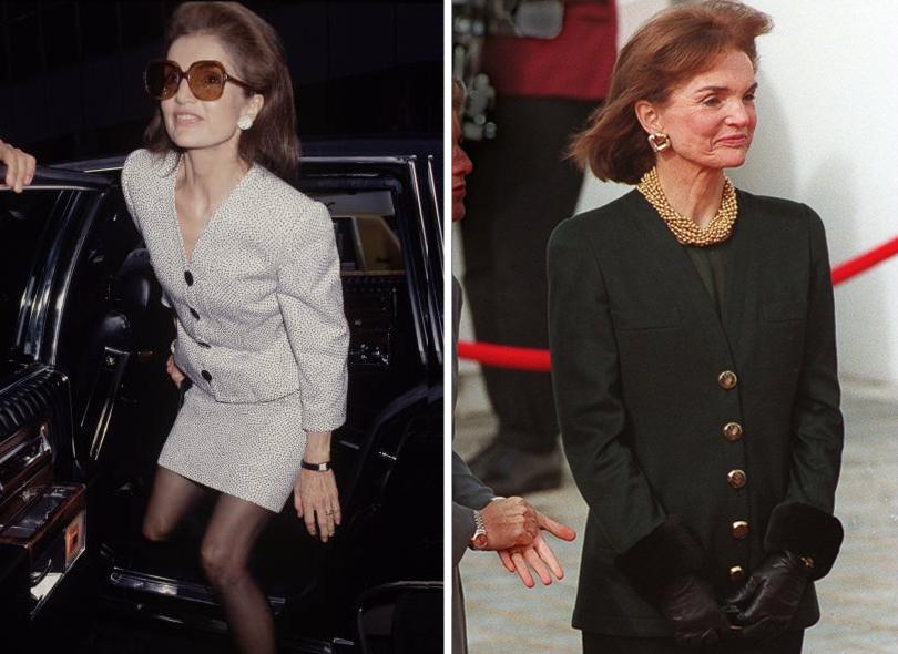 Style Notes: Натали Портман в роли fashion-иконы Джеки Кеннеди. Эволюция стиля Жаклин. 1980г. 1993г.