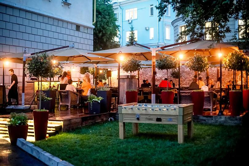 Выходные вгороде: летние веранды московских ресторанов. «Фаренгейт»