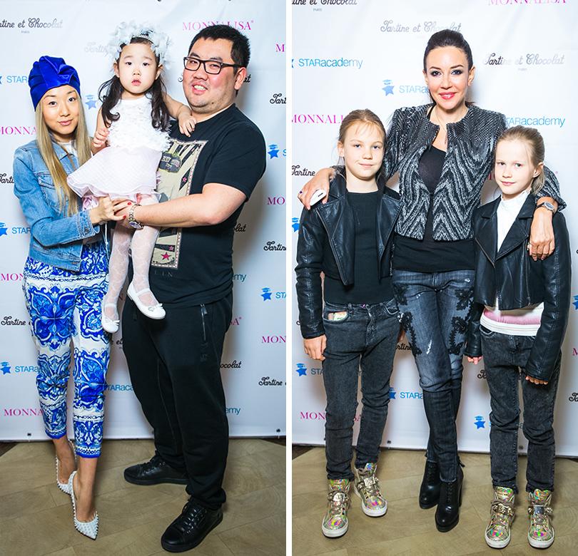 Евгения Ким с семьей. Ирина Чайковская с детьми