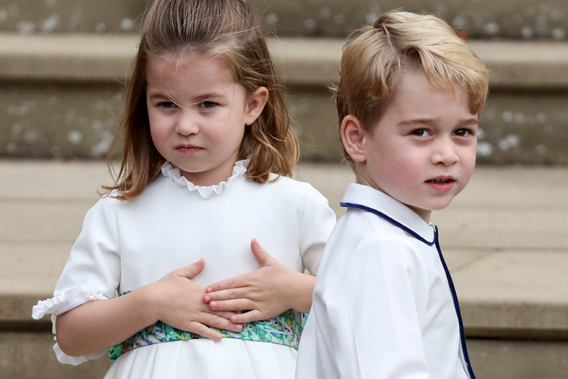 Дети принца Уильяма и Кэтрин: принцесса Шарлотта и принц Джордж