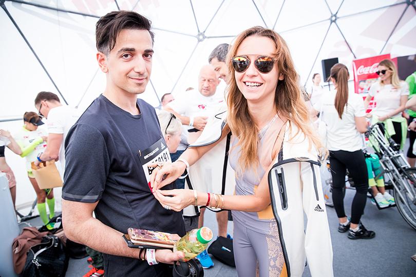 Благотворительный забег Натальи Водяновой «adidas Бегущие сердца» собрал 37 млн рублей! Мурад и Наталья Османн