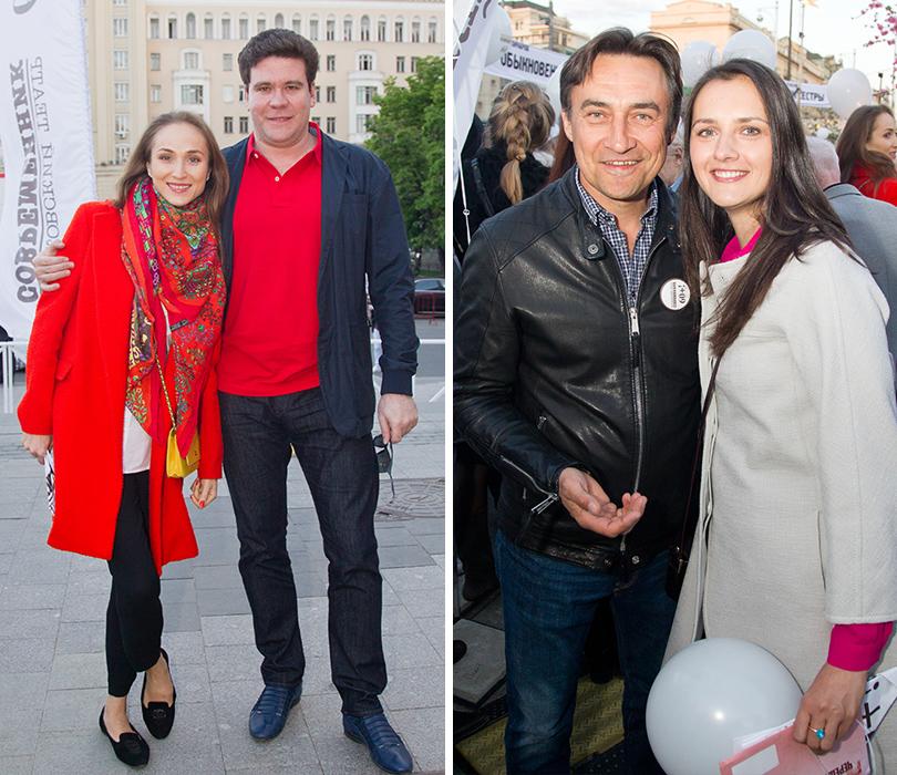 КиноТеатр: «Современник» отметил юбилей на Триумфальной площади. Екатерина Шипулина и Денис Мацуев. Камиль Ларин