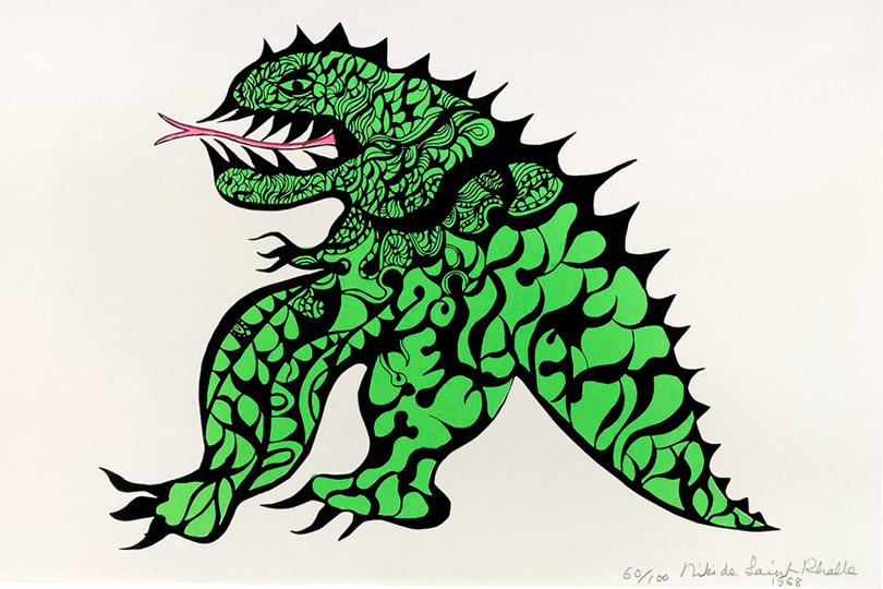 Ники деСен-Фалль. Мое чудовище (1968)
