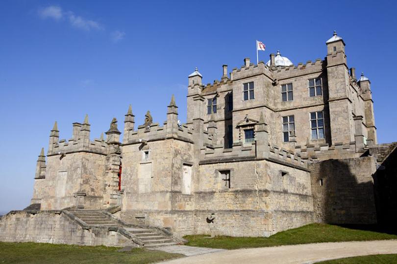 Живописные замки Великобритании. Замок Болсовер