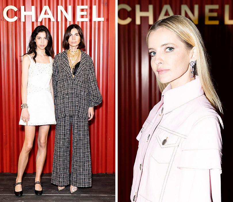 Показ Chanel Métiers d'art Paris— Hamburg вМоскве. Оксана Пономарева сдочерью Варварой. Наталья Якимчик
