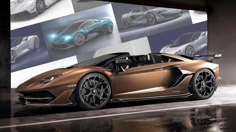 Cars with Jan Coomans. Geneva International Motor Show 2019. Lamborghini Aventador SVJ Roadster