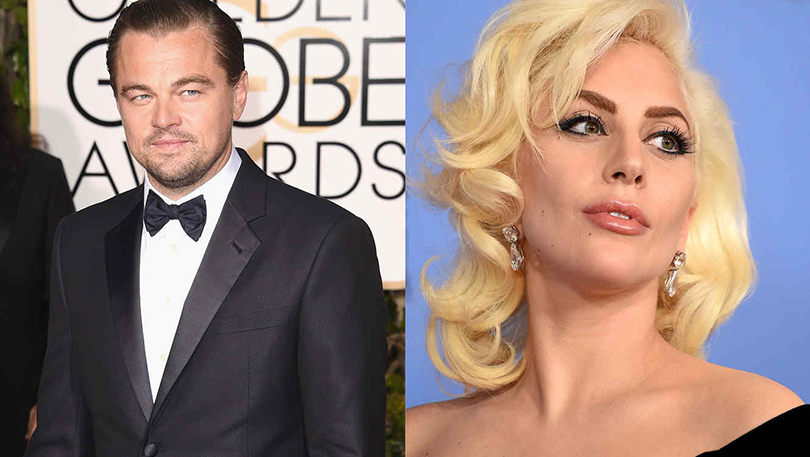 Леонардо Ди Каприо и Леди Гага