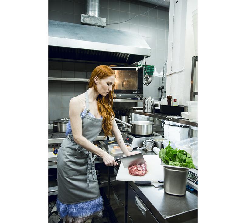Let's Talk Food: девичник Москва-Петербург в ресторане Hamlet+Jacks. Александра Федорова