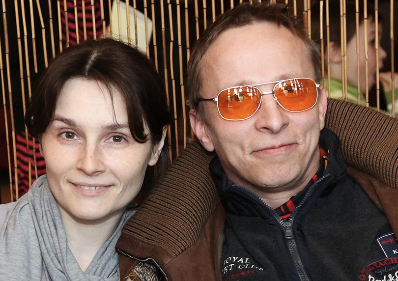 Оксана Арбузова и Иван Охлобыстин