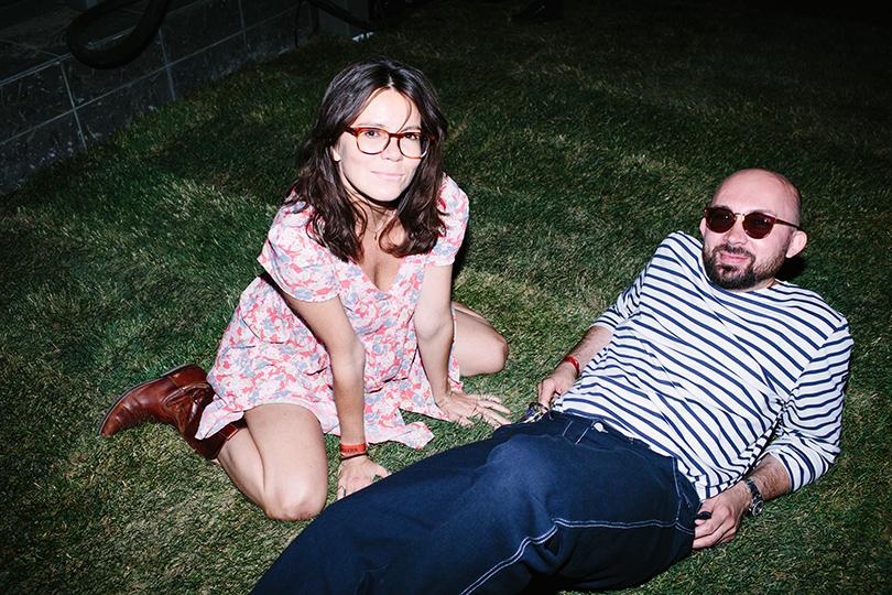 Вечеринка Simple Pleasures Rooftop Party. Наталья Туровникова и Виталий Козак