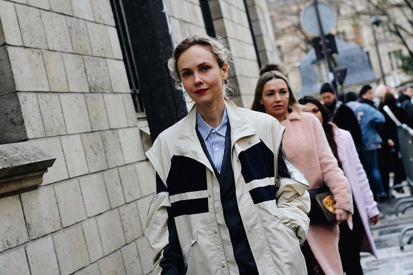 Street Style: лучшие образы уличной моды сParis Couture осень-зима— 2018. Ольга Карпуть