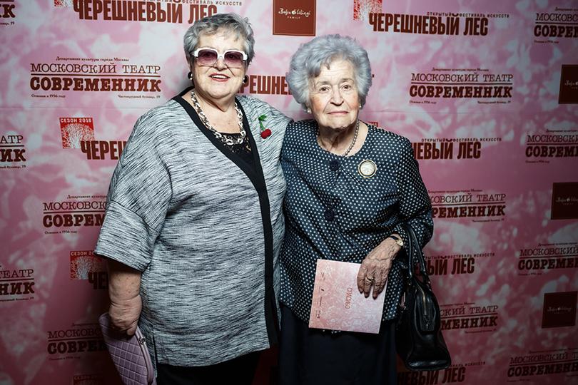 Эдит Куснирович и Ирина Антонова