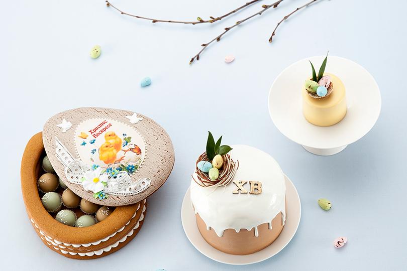 Пасха вмосковских ресторанах: необычные куличи, подарочные корзины ипраздничное меню. Cake Buro