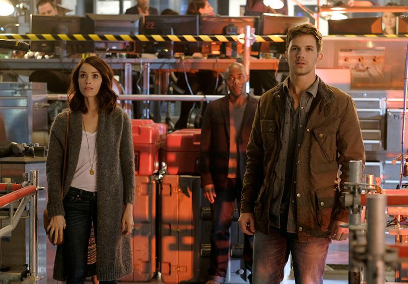 «Вне времени» (Timeless)— Sony Pictures Television, с3октября