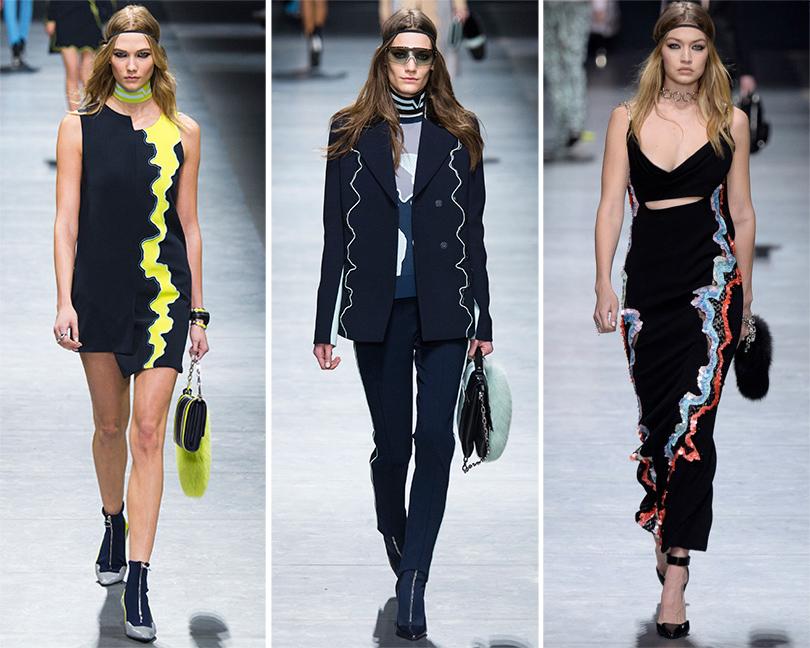 Избранные показы на Неделе моды в Милане 2016: Versace