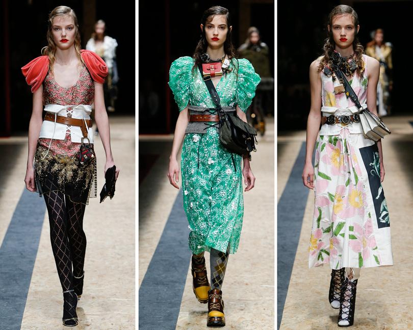 Ключевые показы первых дней Недели моды в Милане: Prada