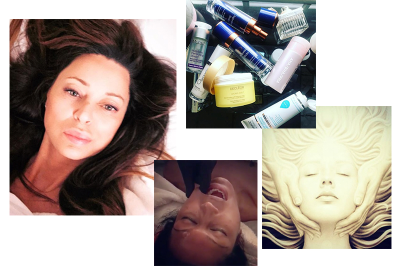 Фирменная процедура Николы Джосс: массаж лица, который выполняется через рот