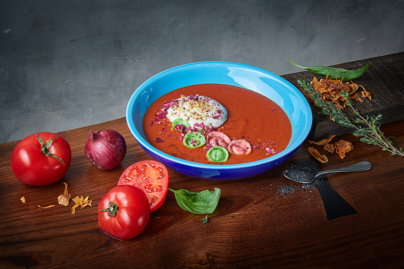 Spices. Томатный суп