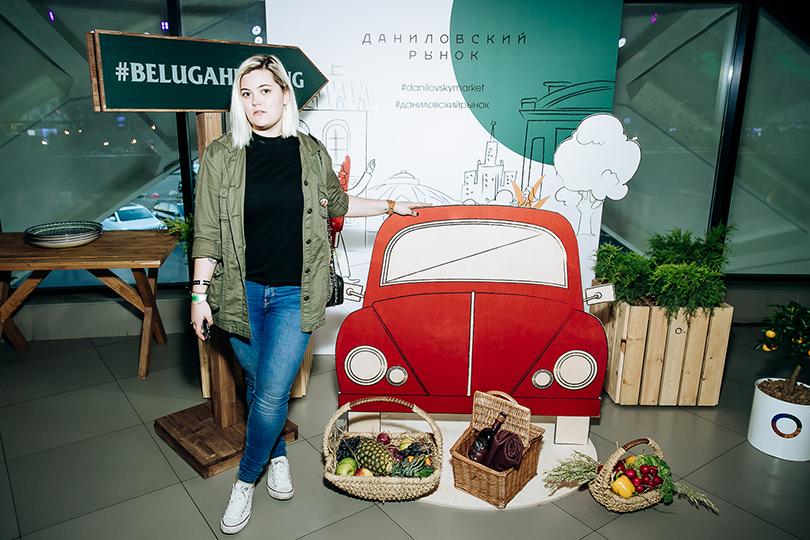Открытие обновленного пространства Даниловского рынка: Вероника Федорова