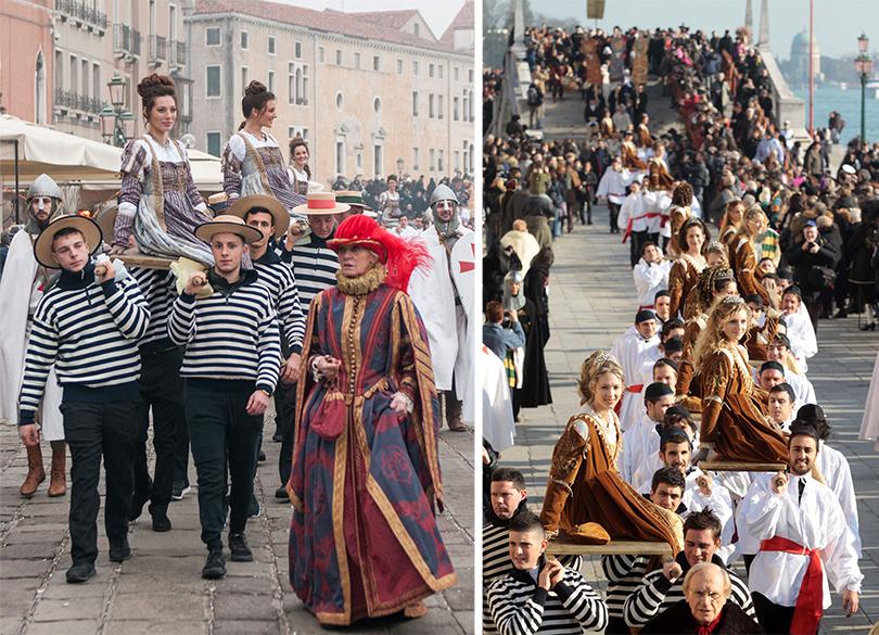Идея наканикулы: увидеть все самое интересное наВенецианском карнавале