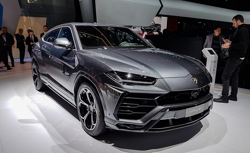 Авто сЯном Коомансом: все самое интересное наАвтосалоне вЖеневе 2018. Lamborghini Urus