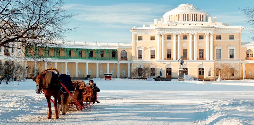 Петербург— детский зимний город.