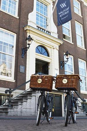 Банки превращаются: отели, бутики икартинные галереи вбывших банковских особняках инебоскребах. Амстердам, Vault Bar, Waldorf Astoria Amsterdam, Herengracht, 542-556