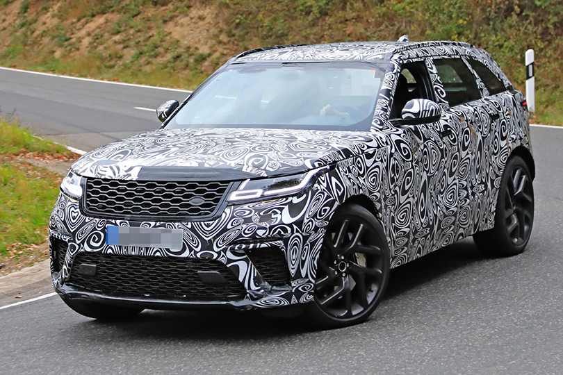 Cars with Jan Coomans. The most interesting cars (according tome) that wewill get in2019. Range Rover Velar SVR