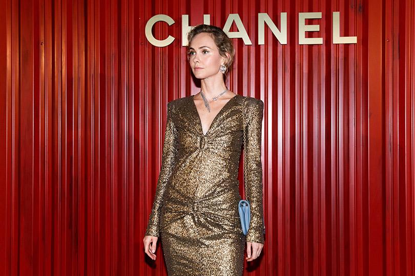 Показ Chanel Métiers d'art Paris— Hamburg вМоскве. Ольга Карпуть