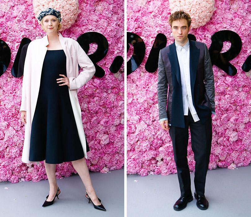 Первый показ Кима Джонса для Dior Homme. Гвендолин Кристи. Роберт Паттинсон
